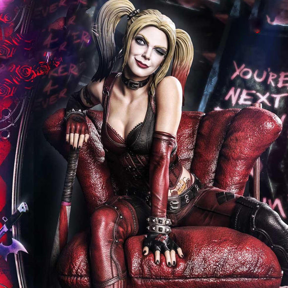 Prime 1 Studio Harley Quinn (Arkham City) (Deluxe Version) 1:3 Scale Statue