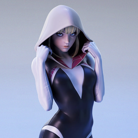 Spider Gwen 1:4 Scale Statue (Fan Art)