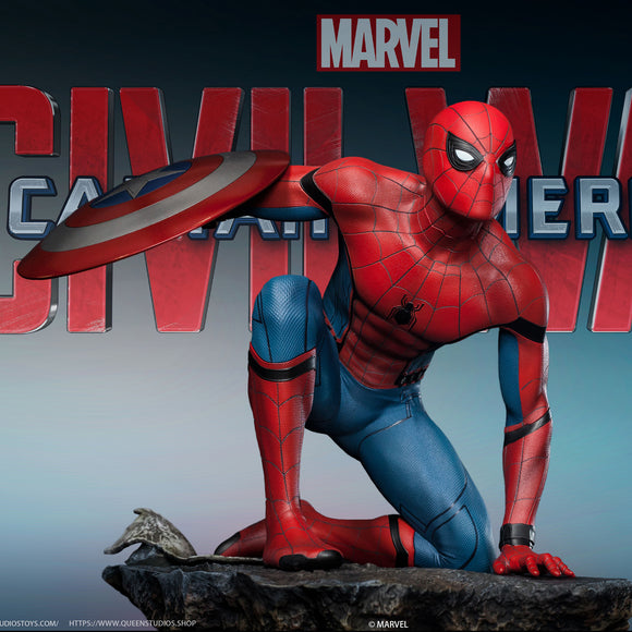 Queen Studios Spider-man (Movie Edition) (Regular Edition) 1:4 Scale Statue