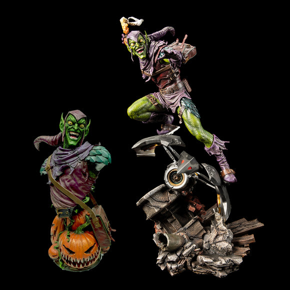 XM Studios Green Goblin (Version B - Exclusive) 1:4 Scale Statue