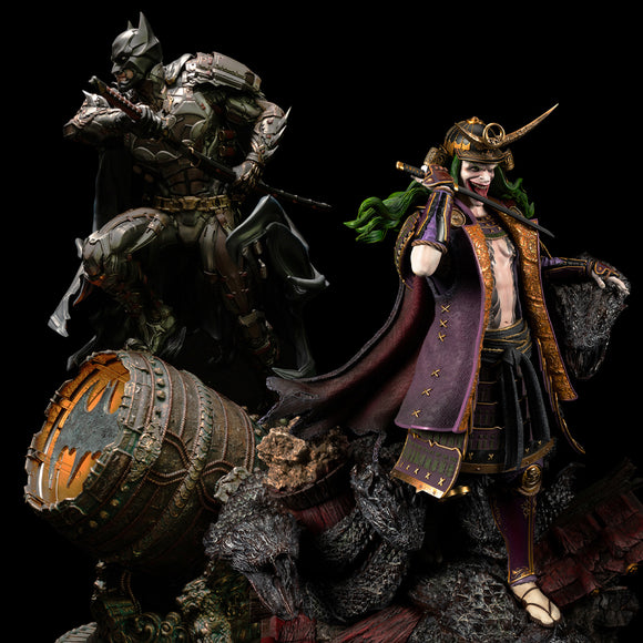 XM Studios Batman Shugo & Joker Orochi (Samurai Series) (Version B - Exclusive Set) 1:4 Scale Statue
