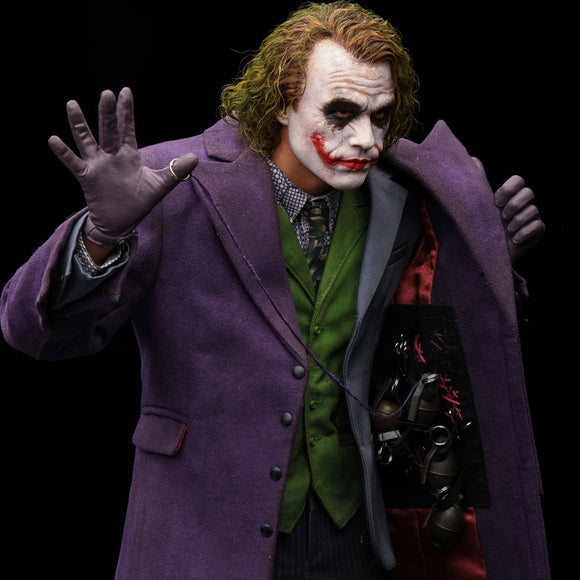 Queen Studios Heath Ledger Joker (The Dark Knight) (Artist Edition) 1:4 Scale Statue