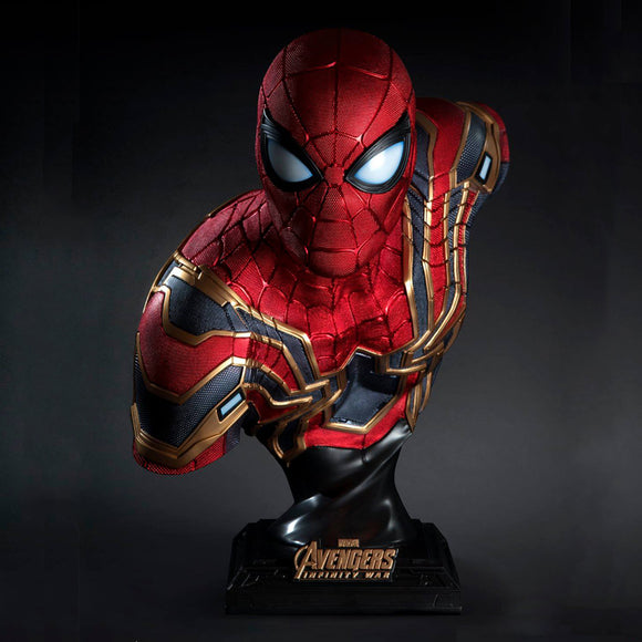 Queen Studios Iron Spider 1:1 Scale Lifesize Bust Statue
