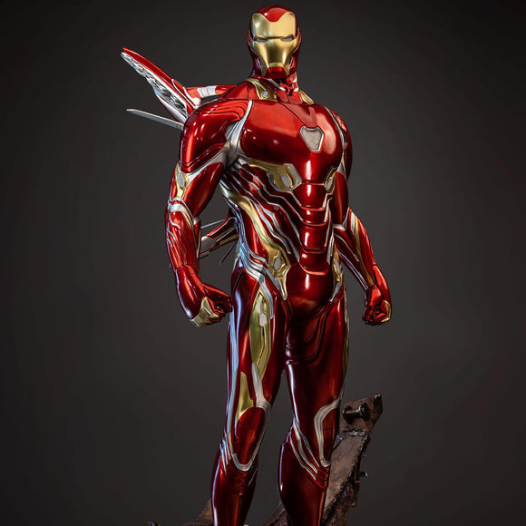 Queen Studios Iron Man Mark 50 1:2 Scale Statue