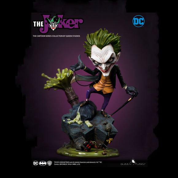 Queen Studios Joker Cartoon Series Statue