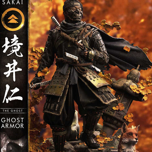 Prime 1 Studio Jin Sakai, The Ghost - Ghost Armor Edition (GHOST OF TSUSHIMA) (REGULAR VERSION) 1:4 Scale Statue