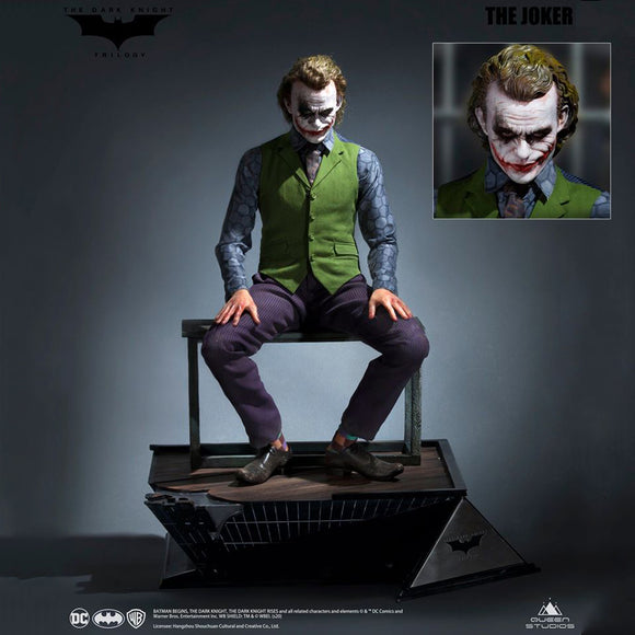 Queen Studios Heath Ledger The Joker (Regular Edition - Sculpted Hair) 1:3 Scale Statue