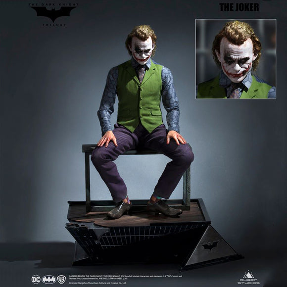 Queen Studios Heath Ledger The Joker (Special Edition - Artificial Hair) 1:3 Scale Statue