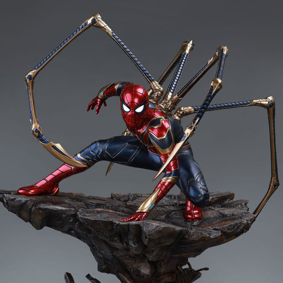 Queen Studios Iron Spider-man (Premium Edition) 1/4 Scale Statue