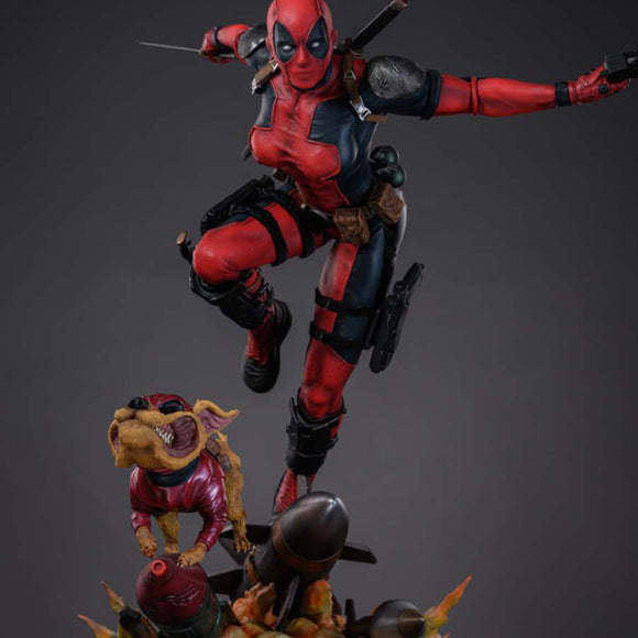 Iron Kite Studio Lady Deadpool (Marvel) 1:4 Scale Statue