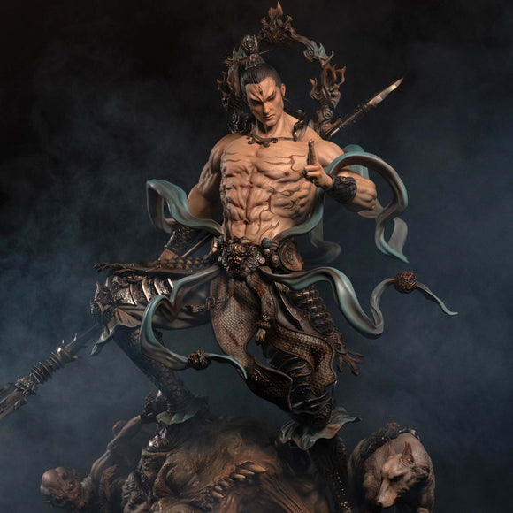 UMAN Studio Erlang Shen God (Myths and Legends of East) 1:4 Scale Statue