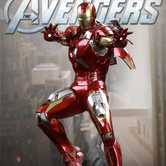 Queens Studio Iron Man Mark VII 1:4 Scale Statue