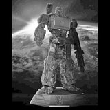 XM Studios Soundwave 12 Inch Scale Statue (Transformers / Silver Color)
