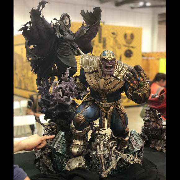 XM Studios Thanos and Lady Death 1/4 Scale Statue