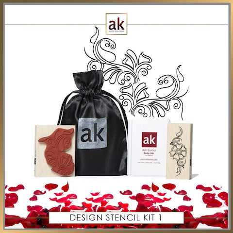 AK Design Stencil - Kit 1 - Ash Kumar Products UK