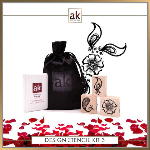 AK Design Stencil - Kit 3 - Ash Kumar Products UK