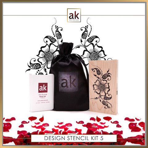 AK Design Stencil - Kit 5 - Ash Kumar Products UK