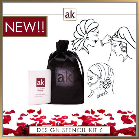 AK Design Stencil - KIT 6 - Ash Kumar Products UK