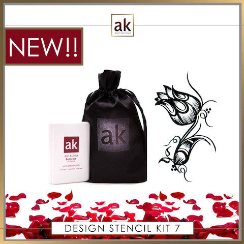 AK Design Stencil - Kit 7 - Ash Kumar Products UK