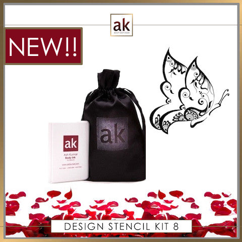AK Design Stencil - Kit 8 - Ash Kumar Products UK