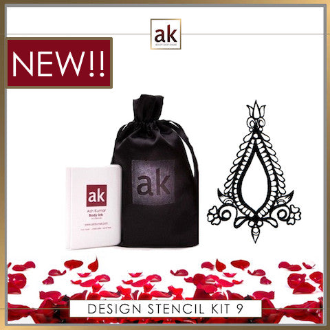 AK Design Stencil - Kit 9 - Ash Kumar Products UK