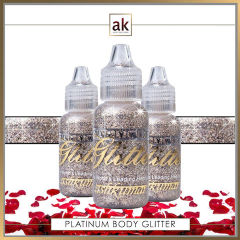 Bollywood Glitter Gel - Platinum - Ash Kumar Products UK