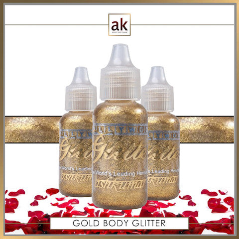 Bollywood Glitter Gel - Gold - Ash Kumar Products UK