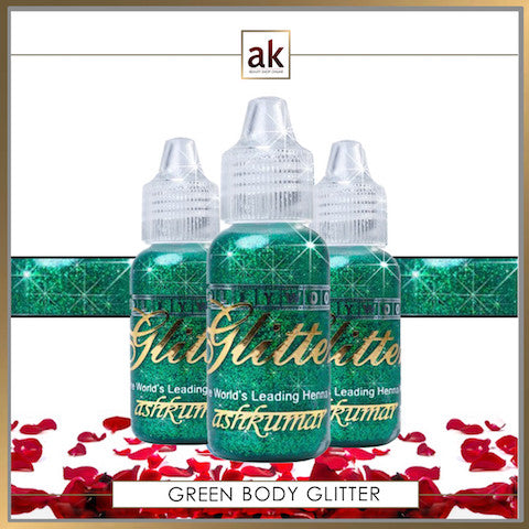 Bollywood Glitter Gel - Emerald Green - Ash Kumar Products UK