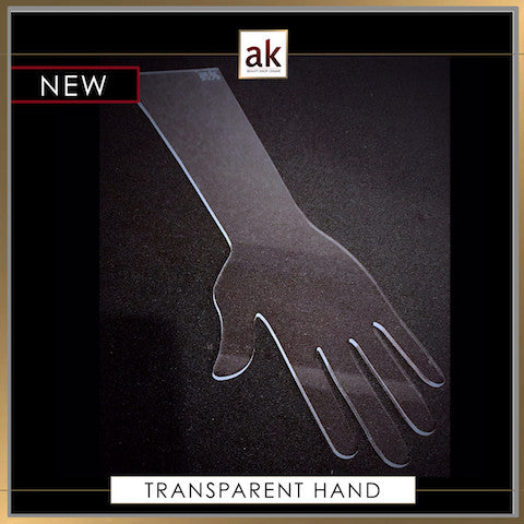 TRANSPARENT HAND - Ash Kumar Products UK