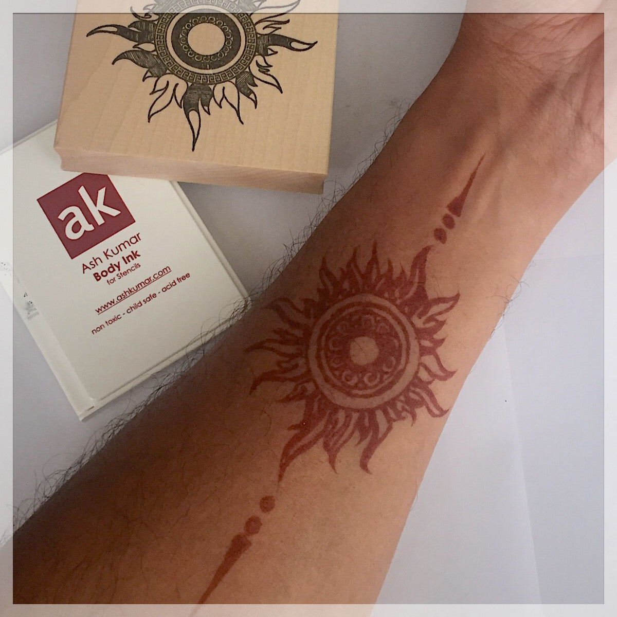AK Design Stencil - Kit 10 - Ash Kumar Products UK
