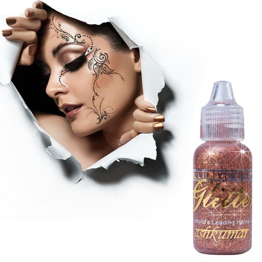 Bollywood Glitter Gel - Bronze - Ash Kumar Products UK
