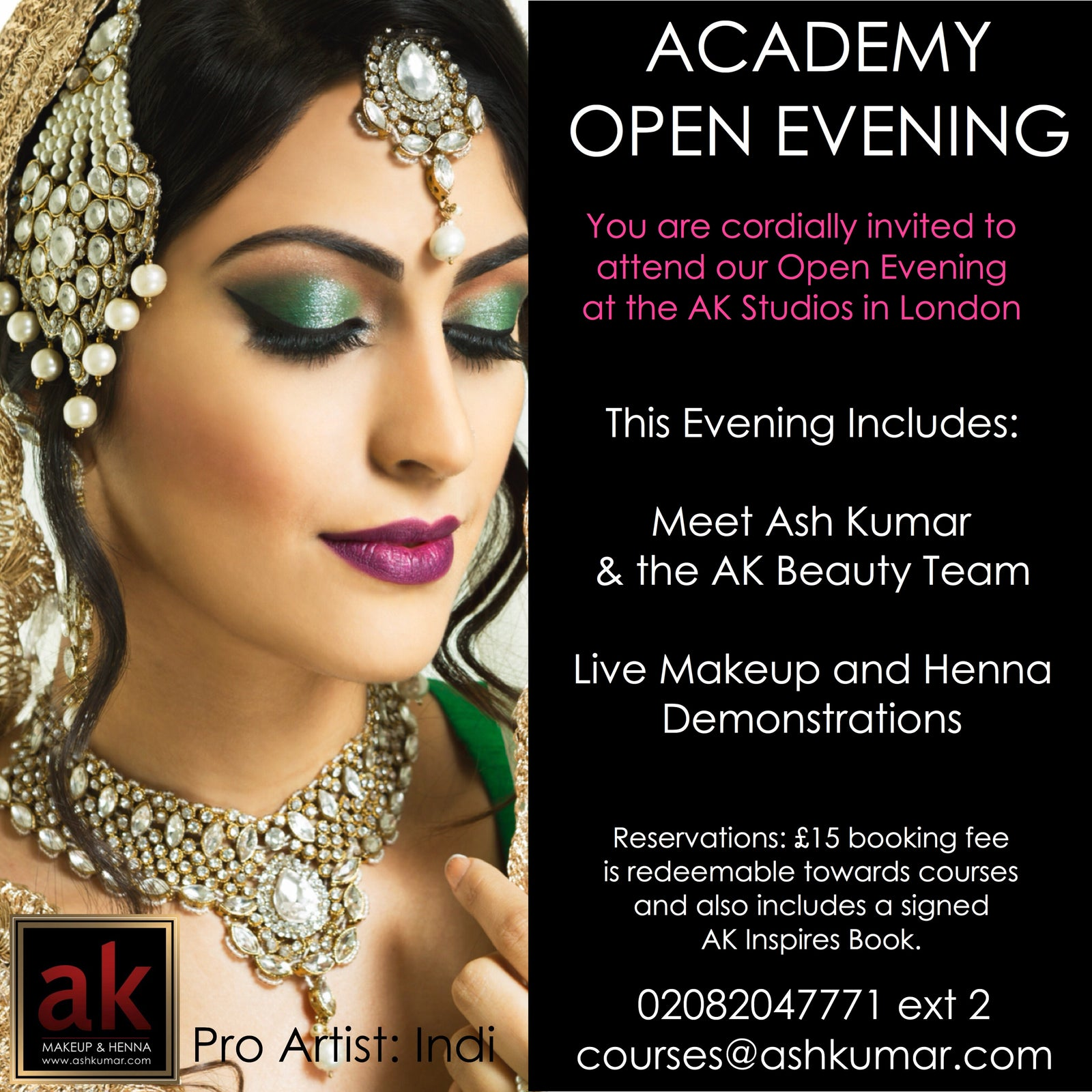 OPEN EVENING AT THE ASH KUMAR STUDIOS