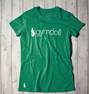 Gymdoll Logo Active Tee - Red