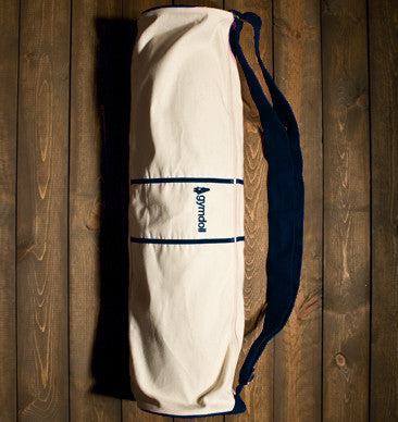Gymdoll Yoga Bag - Canvas/Navy
