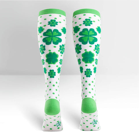 Knee High Workout Socks - Clovers