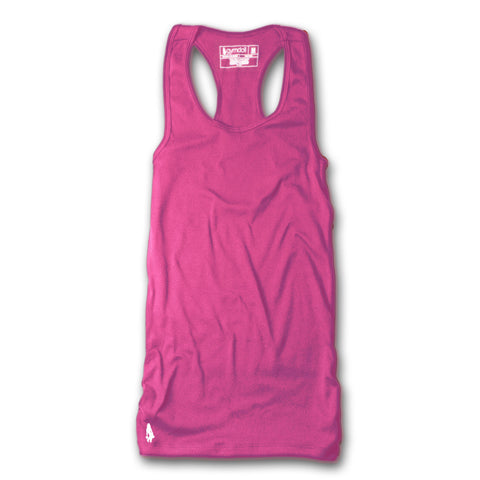 Skull & Barbells Active Tank - Black/Pink
