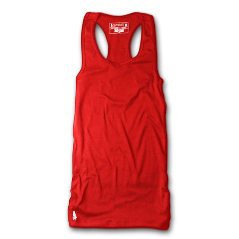 Racerback Active Tank - Red
