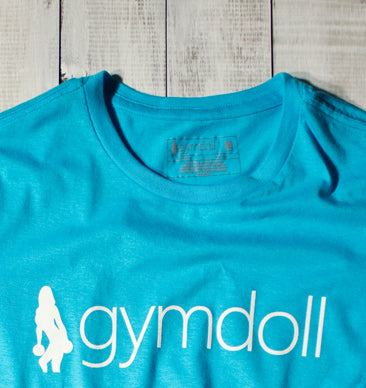 Gymdoll Logo Active Tee - Turquoise
