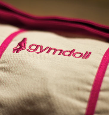 Gymdoll Yoga Bag - Canvas/Pink