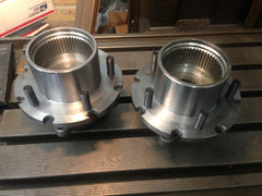 99-04 Ford Super Duty Dana 50/60 Modified Unit Bearing Hub 35 SPLINE CONVERSION TIMKEN  5, 6 or 8 Lug bolt pattern Machined