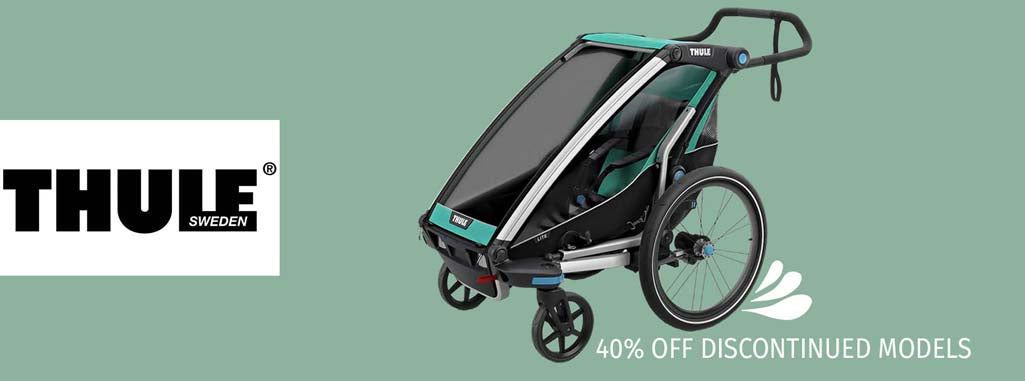 Who whats a discounted thule joggers stroller, discounted stroller, Thule, discontinued models, baby stroller
