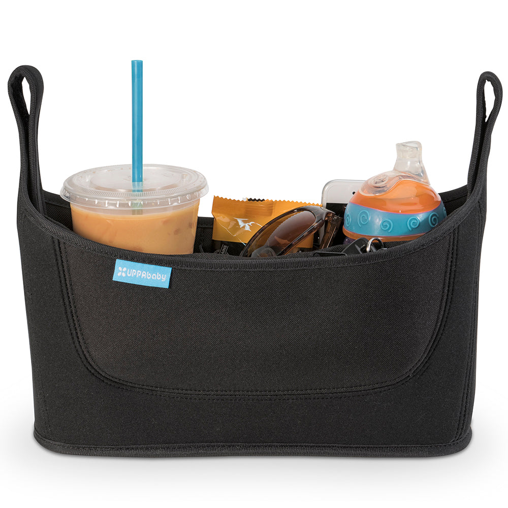 UPPAbaby Convenient Deluxe Carry-All Parent Stroller Organizer Console black