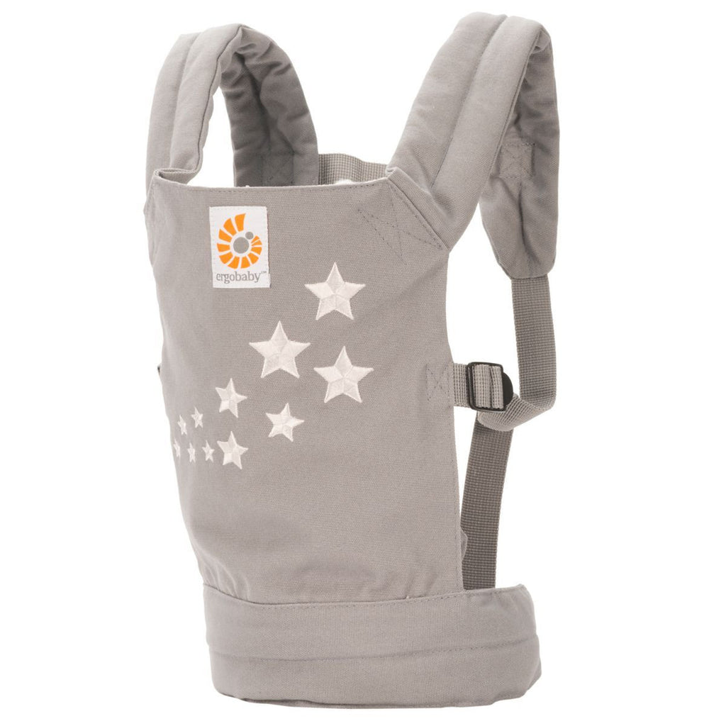 ergobaby childrens kids doll stuffed animal carrier sling galaxy grey