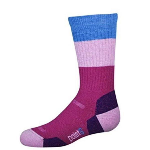 Kids Block Stripe Socks