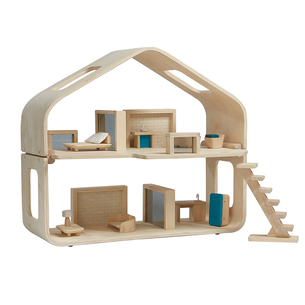 PlanToys Contemporary Dollhouse Children's Pretend Play