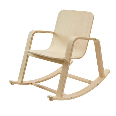 PlanToys Wooden Rocking Chair Nursery Accessory