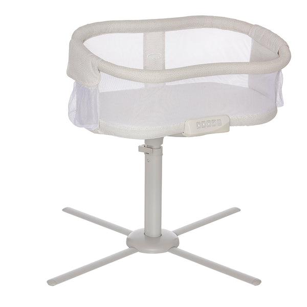 HALO BassiNest Premiere Swivel Sleeper Bassinet pebble beige