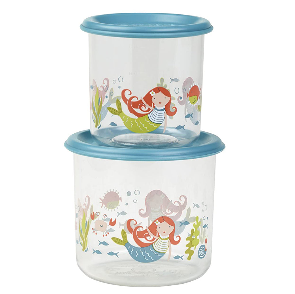 Sugarbooger Baby Otter Good Lunch/® Snack Containers Small Set-of-Two