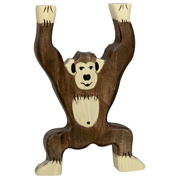 Holztiger collection safari chimp standing