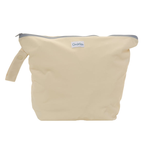 GroVia Cloth Diapering Wet Bags vanilla yellow